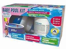 traitement piscine oxyg 232 ne actif baby pool kit sur