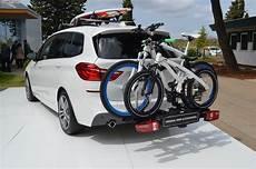 bmw fahrradträger anhängerkupplung bmw 2er gran tourer zubeh 246 r f 252 r kleine und gro 223 e kinder