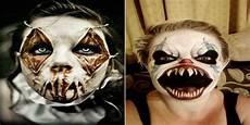 maquillage clown tueur homme 108811 22 maquillages terrifiants pour qui vont vous
