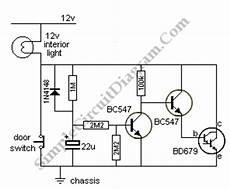 car interior light extender simple circuit diagram