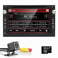 7 quot ui 2 din car radio dvd player gps stereo for vw b5 mk4