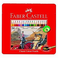 Faber Castell Malvorlagen Uk Faber Castell Classic Colour Pencils Tin Of 24 With