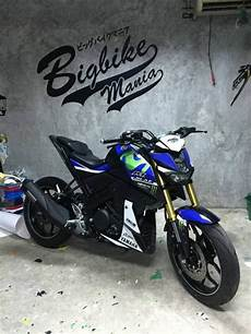 Modifikasi Mt 15 by Yamaha Mt 15 Atau M Slaz Modif Warna Livery Movistar