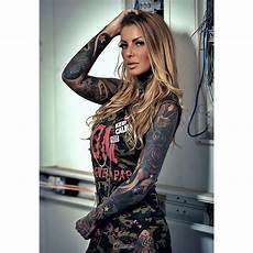 meet the most beautiful tattoo models in the world