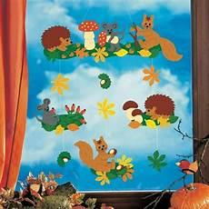 Herbst Basteln Kinder Fenster - fensterbilder basteln 64 diy ideen f 252 r stimmungsvolle