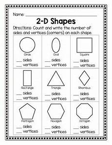 2d shapes sides and vertices by livin in a down by the river