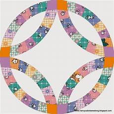 about double wedding ring quilt block