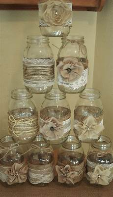 of 10 jar sleeves burlap wedding decorations etsy burlap wedding decorations