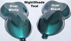 night shade teal metallic paint pigment paint with pearl