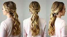 fishtail embellished ponytail missy sue youtube