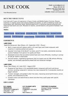 chef resume sle writing guide resume genius
