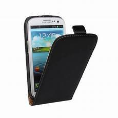 mobile cover for samsung black leather flip mobile phone cover for samsung