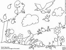 Easter Egg Hunt Coloring Sheets Give Your Octopus A Paintbrush Or 8 Printable Egg Hunt