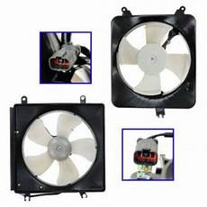 automobile air conditioning repair 1997 acura cl auto manual 1994 1997 acura cl honda accord 5 blade fan radiator a c condenser cooling fan assembly pair
