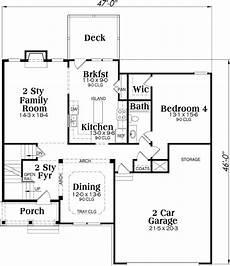 southern colonial house plans southern colonial house plan 4 bedrooms 3 bath 2372 sq