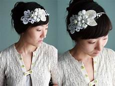 diy wedding headband wedding and bridal inspiration