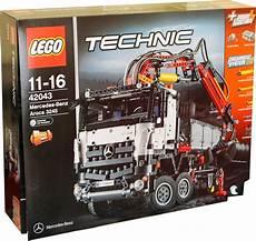 2 in 1 lego technic mercedes arocs 3245 lkw kranwagen