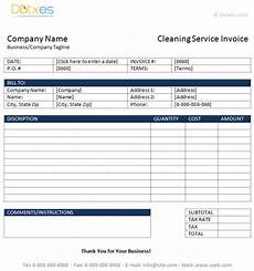 free cleaning receipt template printable cleaning invoice template 20 free cleaning