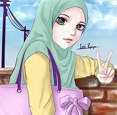 Perumahan Islami Gambar Kartun Wanita Muslimah 2017