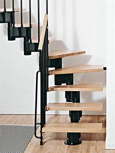 kompact adjustable staircase kit metal steel and wood