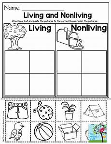 science worksheets living and nonliving things 12103 living and nonliving a great preschool activity to help students categorize living and