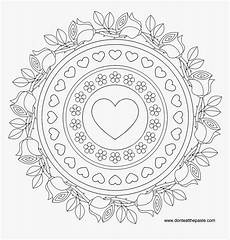 advanced mandala coloring pages birthday mandala
