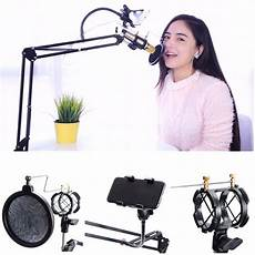 9pcs Foldable Professional Recording Microphone Stand by 9pcs Foldable Professional Recording Microphone Stand