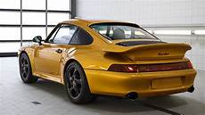 porsche meticulously restores a 993 turbo for project gold