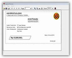 aplikasi cetak kwitansi v 1 5 mas adi
