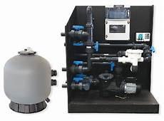 groupe filtrant pour piscine une filtration compl 232 te et compacte sur palette pour la