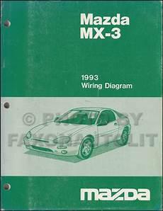 free online auto service manuals 1993 mazda mx 3 security system 1993 mazda mx 3 repair shop manual original