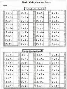 basic facts practice multiplication 44 worksheets by wilbert mitchell