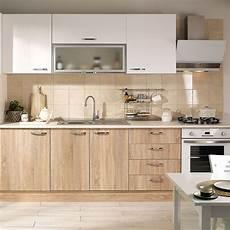 mutfak dolab1 end 252 l 252 s beyaz meşe ankastre hazır mutfak dolabı 270 cm