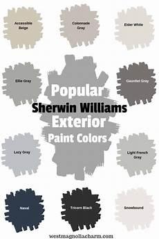 popular sherwin williams exterior paint colors west magnolia charm
