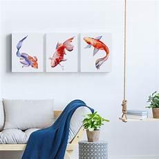 Dekorasi Ikan Hiasan Dinding Rumah Ikan Hias Gold Fish