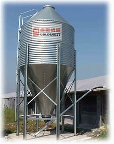 china galvanized feed silo for poultry feeding equipment china galvanized silo feed silo