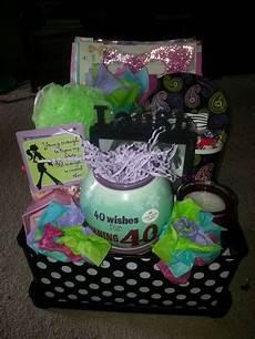 40 geburtstag geschenk 40th birthday gift basket kemoco whimsy gift baskets