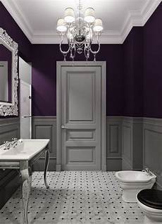 39 kick ass bathroom decor ideas powder room purple