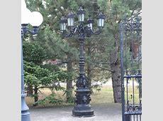 Cast Iron Ornate Lamp Post   IronGate Garden Elements