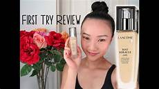 Lancome Mat Miracle try review lanc 244 me mat miracle 24h foundation
