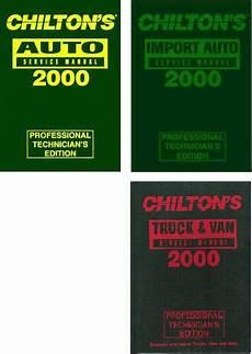what is the best auto repair manual 2000 chevrolet camaro regenerative braking 2000 1996 chilton s service manual set 3 manuals