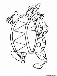 clown coloring pages and print clown coloring pages