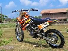 Motor Modif Bmx by Modif Rangka Jupiter Mx Jadi Motor Trail Grasstrack Trabas
