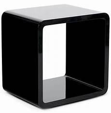 Cube De Rangement Kubic Noir Empilable Meuble De Rangement