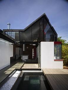 contemporary home style by bb from the outside vader house seems menacing inside it s