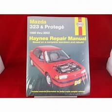 old cars and repair manuals free 2001 mazda mpv instrument cluster 1990 2003 mazda 323 prot 233 g 233 haynes repair manual 61015 listing in the mazda car truck manuals