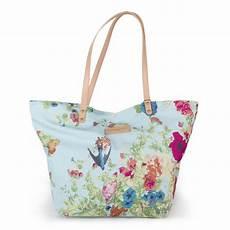 sac en tissu sac en tissu bleu ciel 224 motifs fleuris femme christian