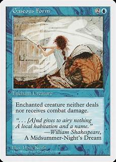 gaseous form magic card