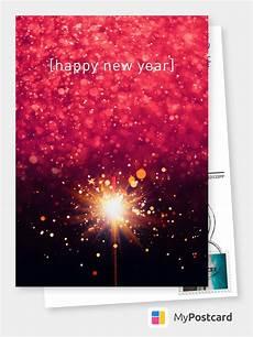 wunderkerze frohes neues jahr echte postkarten online versenden happy new year cards