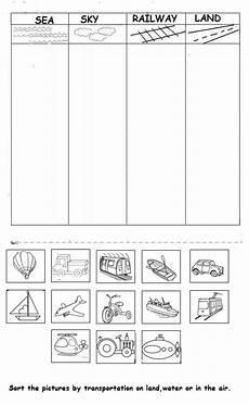 transportation worksheets for pre k 15224 vehicle worksheet for transportation preschool kindergarten transportation